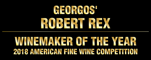Georgos' Robert Rex - 2018 Winemaker of the Year