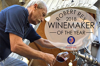 Georgos Winemaker Robert Rex Honored as 2018 Winemaker of the Year
