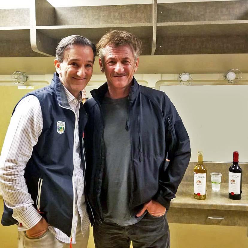 Sean Penn & Georgos